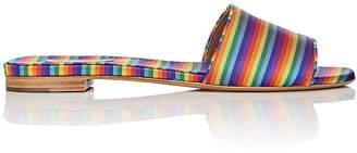 Tabitha Simmons Women's Sprinkles Linen Slide Sandals