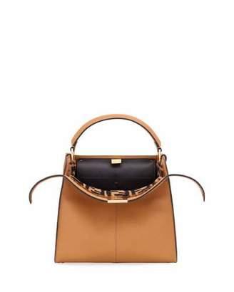 Fendi Peekaboo Xlite Regular Top Handle Bag