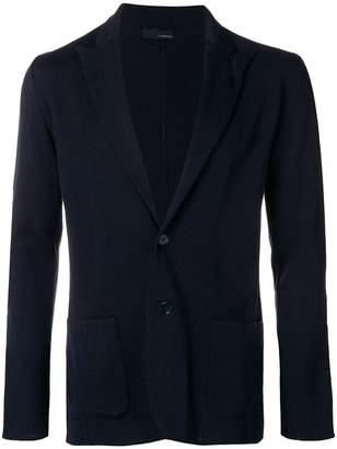 Lardini peaked lapel blazer