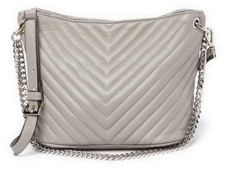 Steve Madden Jaime Quilted Chevron Mini Bucket Bag