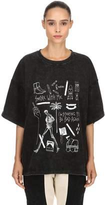 Smoke W/ Me Heavy Vintage Jersey T-Shirt