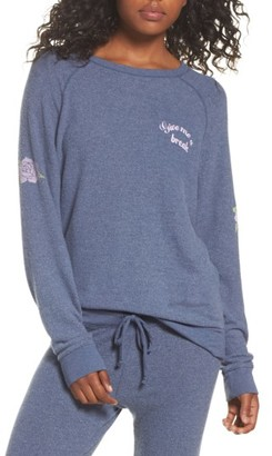 Women's Junk Food Give Me A Break Hacci Pullover $65 thestylecure.com