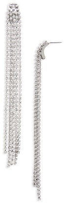 Women's Topshop Crystal Chain Drop Earrings $18 thestylecure.com