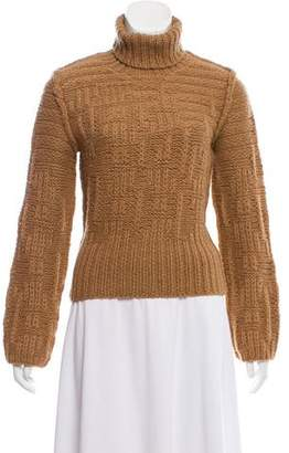 Calvin Klein Collection Turtleneck Knit Sweater