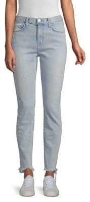 Current/Elliott High-Rise Ankle Skinny Jeans