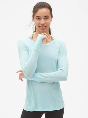 Gap GapFit Breathe Long Sleeve T-Shirt