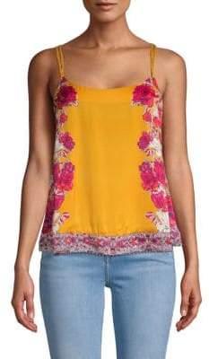 Floral Embellished Cami Top