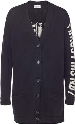 RED Valentino Virgin Wool Cardigan