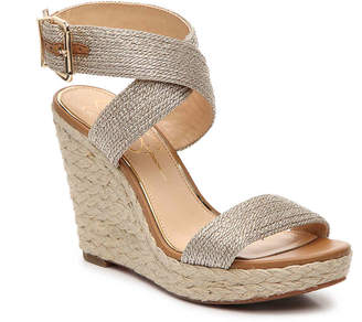 c45803a76ca Jessica Simpson Platform Wedge With Ankle Strap - ShopStyle