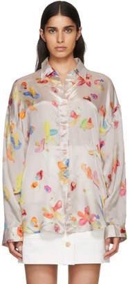 Acne Studios Bla Konst Pink Duanna M Gum Shirt