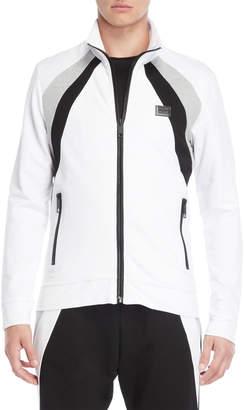 Antony Morato Full-Zip Mock Neck Sweatshirt