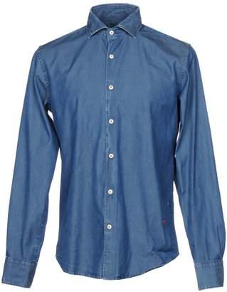(+) People + PEOPLE Denim shirts - Item 42667896