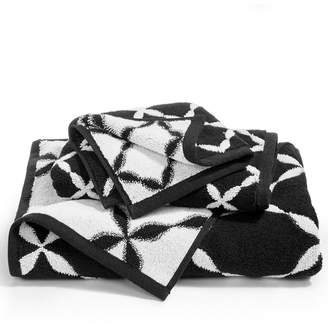 Charter Club Elite Cotton Fashion Trellis Hand Towel, Created for Macy's