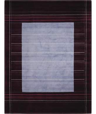 Calvin Klein Hand-Knotted Wine/Purple Area Rug