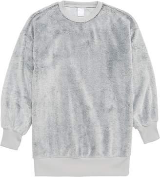 Zella Faux Fur Tunic Top