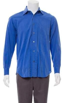 Salvatore Ferragamo Woven Dress Shirt