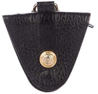 Gianni Versace Medusa Leather Key Holder