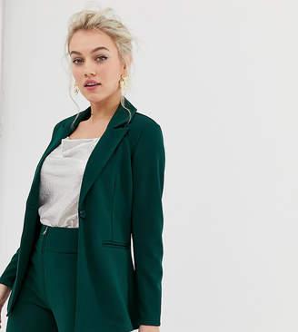 Y.A.S Petite blazer in green