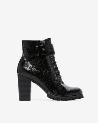 Express Lug Sole High Heeled Boots