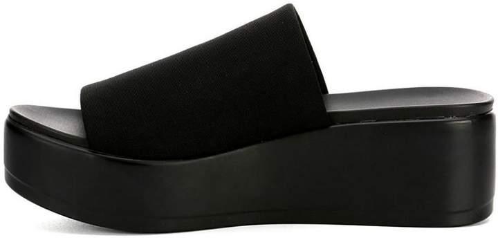 BEBE Stretchy Flatform Sandal