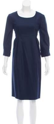 Burberry Wool Knee-Length Dress