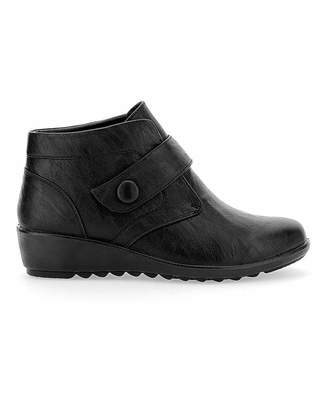 Bourne Cushion Walk Ankle Boots E Fit