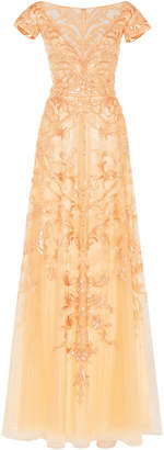 Zuhair Murad Sequin-Embellished Organza Gown Size: 32