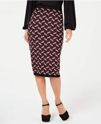 Michael Kors Jacquard Pencil Skirt, in Regular and Petite Sizes