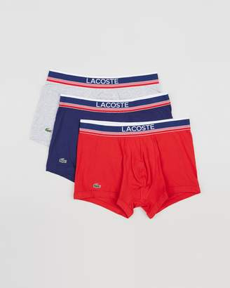 Lacoste 3-Pack Trunks