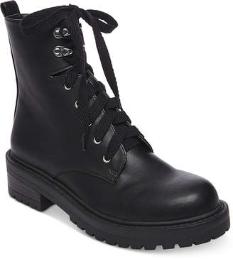 Madden-Girl Alicee Combat Booties