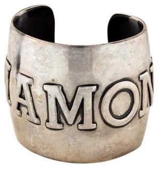 Tom Binns 'diamond' Cuff Silver 'diamond' Cuff