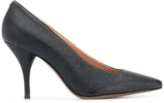 L'Autre Chose textured pointed pumps