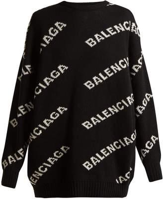 Logo crew-neck sweater