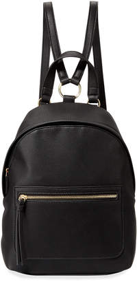 Neiman Marcus Brynlee Faux-Leather Backpack