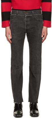 Vetements Black Reworked Jeans $1,690 thestylecure.com