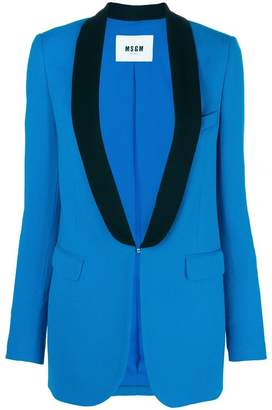 MSGM classic single-breasted blazer