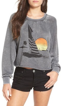 Billabong 'Again & Again' Crop Sweatshirt $44.95 thestylecure.com