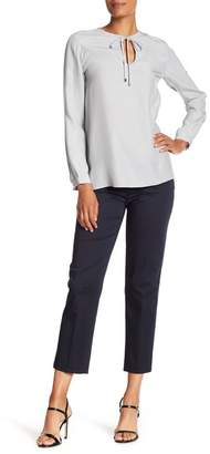 Lafayette 148 New York Cropped Side Zip Ankle Pant