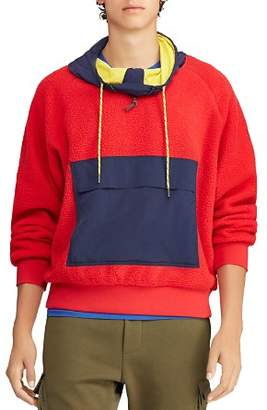 Polo Ralph Lauren Hi Tech Color-Block Hooded Sweatshirt