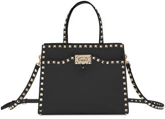 Valentino Rockstud Small Vitello Leather Tote Bag