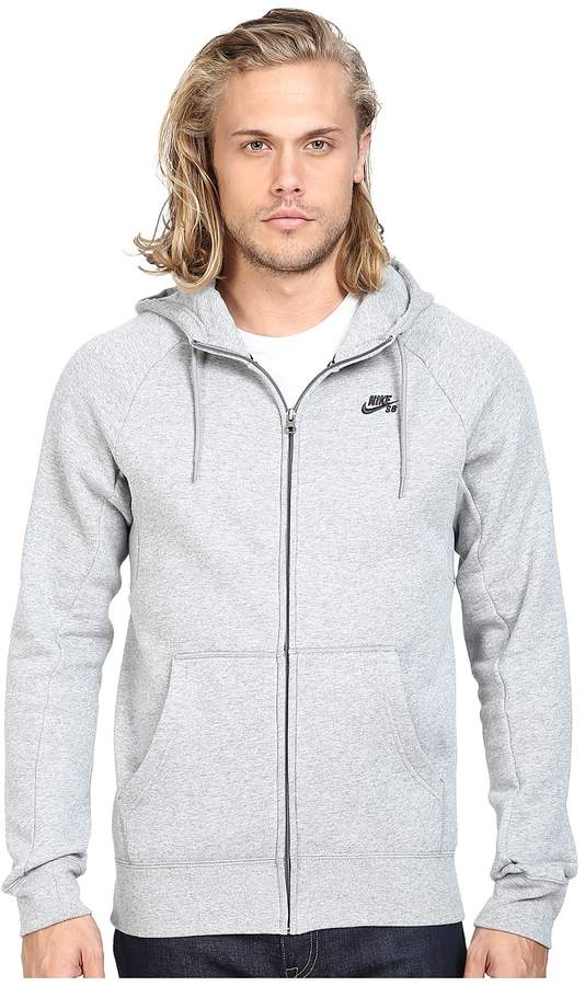 Nike SB - SB Icon Full Zip Hoodie Men's Sweatshirt