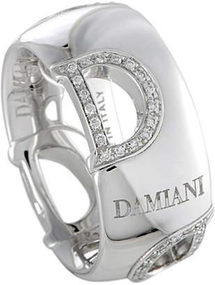 Damiani 18K 0.20 Ct. Tw. Size 6.5 Diamond Ring
