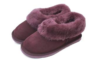 Eastern Counties Leather Womens/Ladies Sheepskin Lined Slipper Boots (7 US)