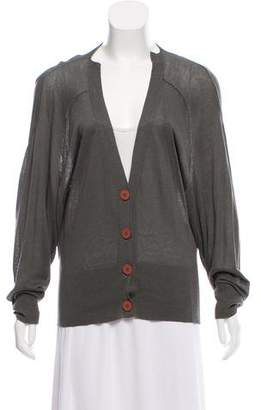 Stella McCartney Knit Button-Up Cardigan