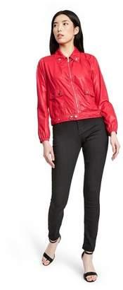 Proenza Schouler for Target Women's Long Sleeve Bomber Jacket for Target Red