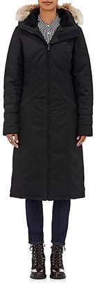 Canada Goose Women's Elrose Fur-Trimmed Down Parka $1,295 thestylecure.com