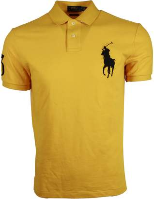 Ralph Lauren Men Custom Slim Fit Big Pony Polo Shirt