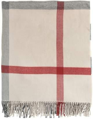Burberry Check Extra Fine Merino Wool Blanket