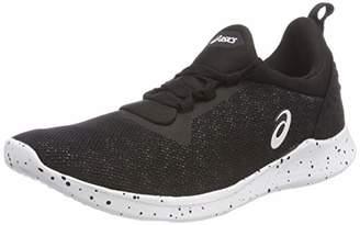 Asics Women's Sana 4 Fitness Shoes, (Black/White 001)