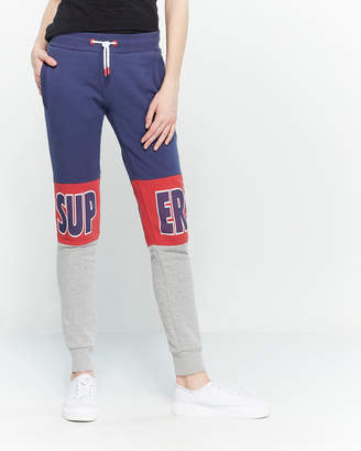 Superdry Soft Navy Stadium Joggers